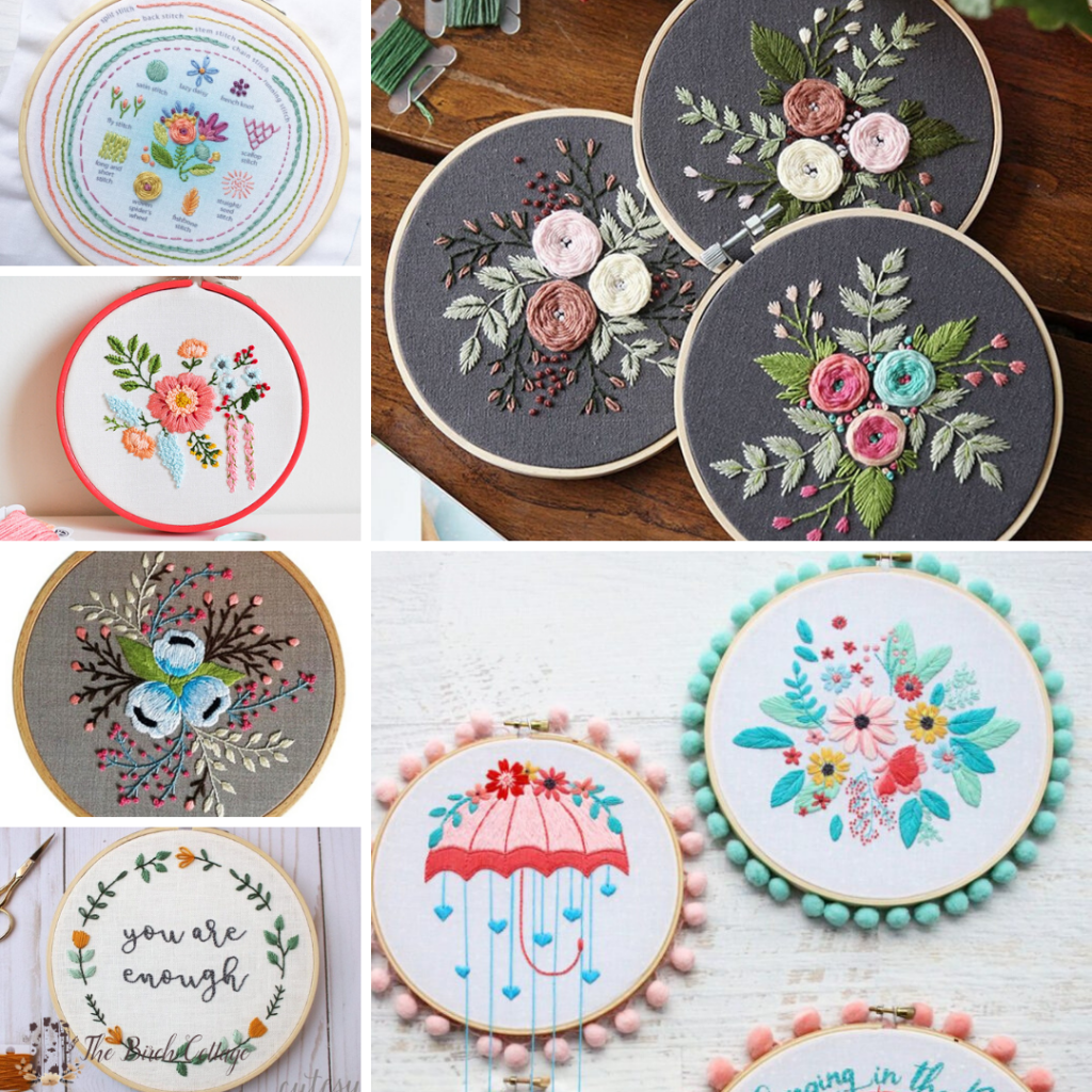 Where To Find Hand Embroidery Patterns Kits And Tutorials The Birch Cottage