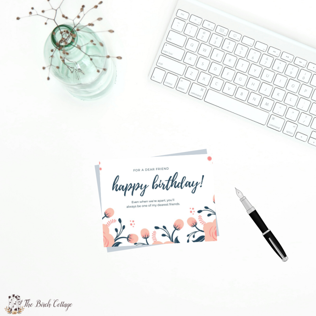 Terrific Happy Birthday To A Dear Friend Social Distancing Birthday Card Funny Birthday Cards Online Fluifree Goldxyz