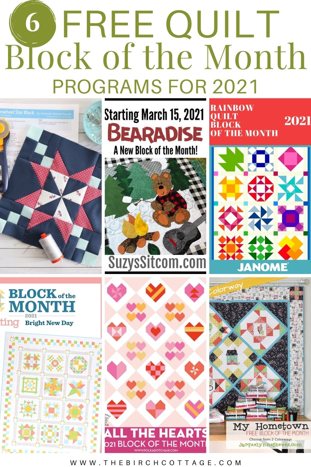 6 quilts