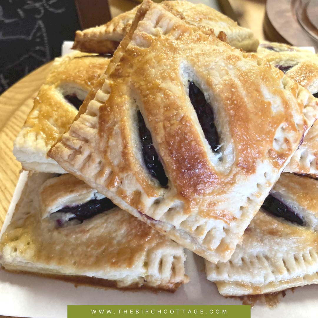 Summer is the perfect time to make Blueberry Hand Pies. These Blueberry Hand Pies are made using a shaggy pastry crust and filled with blueberries.