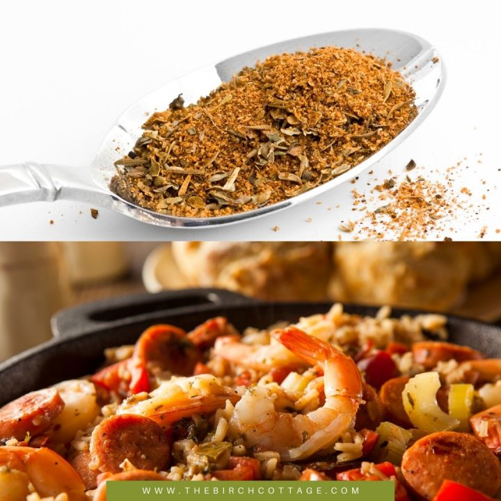 This quick homemade Cajun spice seasoning is the perfect seasoning for burgers, steaks, chicken, seafood and even Cajun dishes like Jambalya!