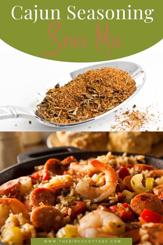 cajun spice seasoning