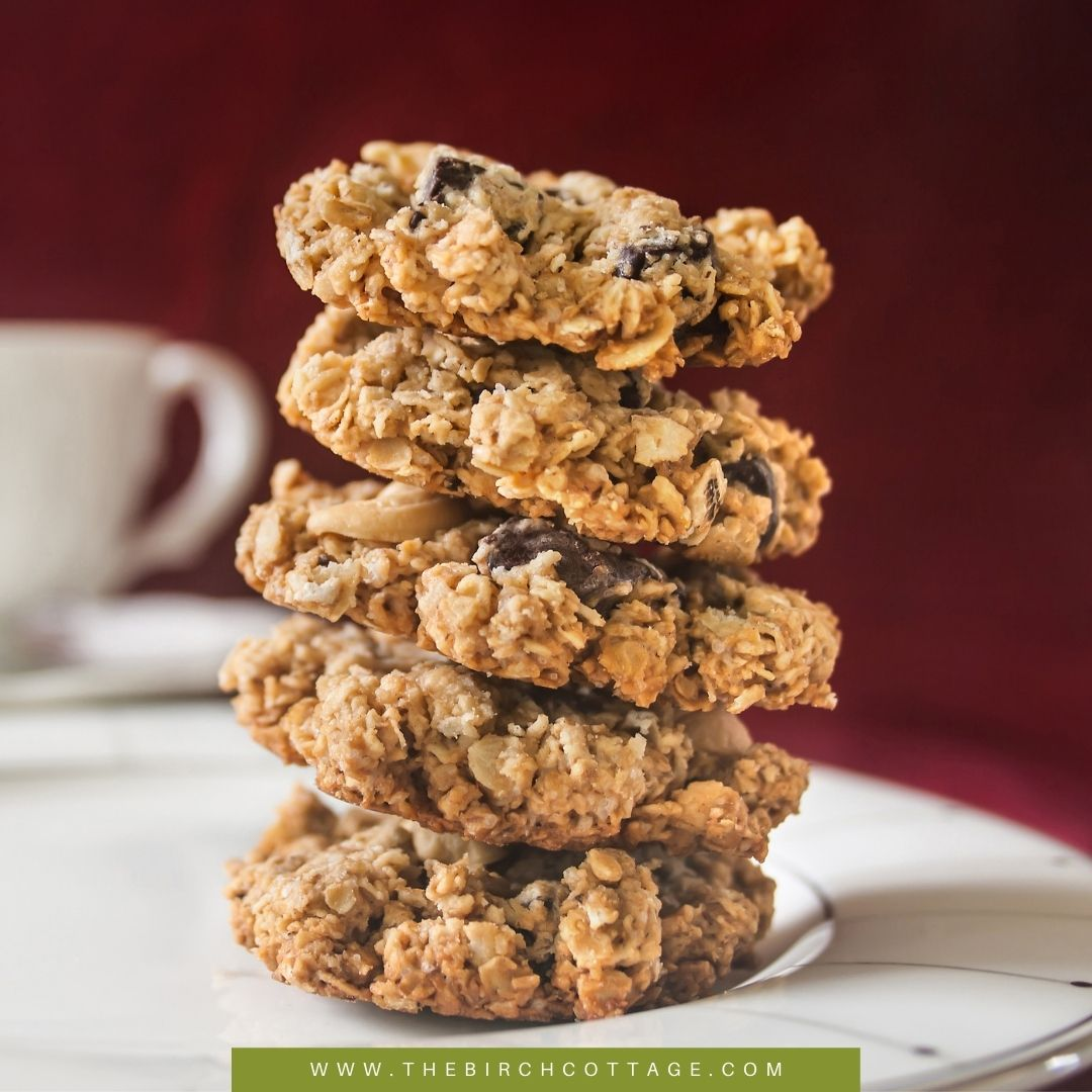 Dad's Road Trip Chocolate Chip Cookies or Neiman Marcus Cookies are full of oats, nuts, chocolate and melt in your mouth goodness!