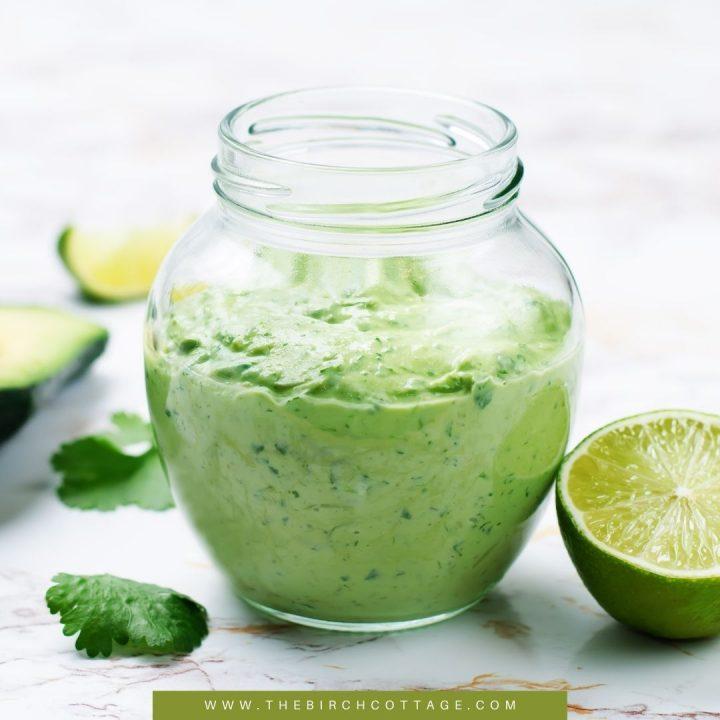 Creamy Cilantro Dressing Recipe