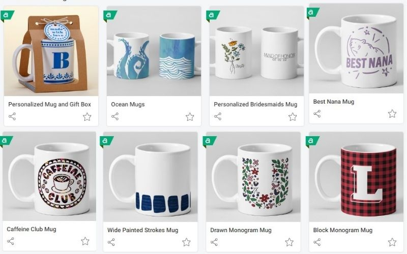 8 mugs with different designs for use with Cricut Mug Press