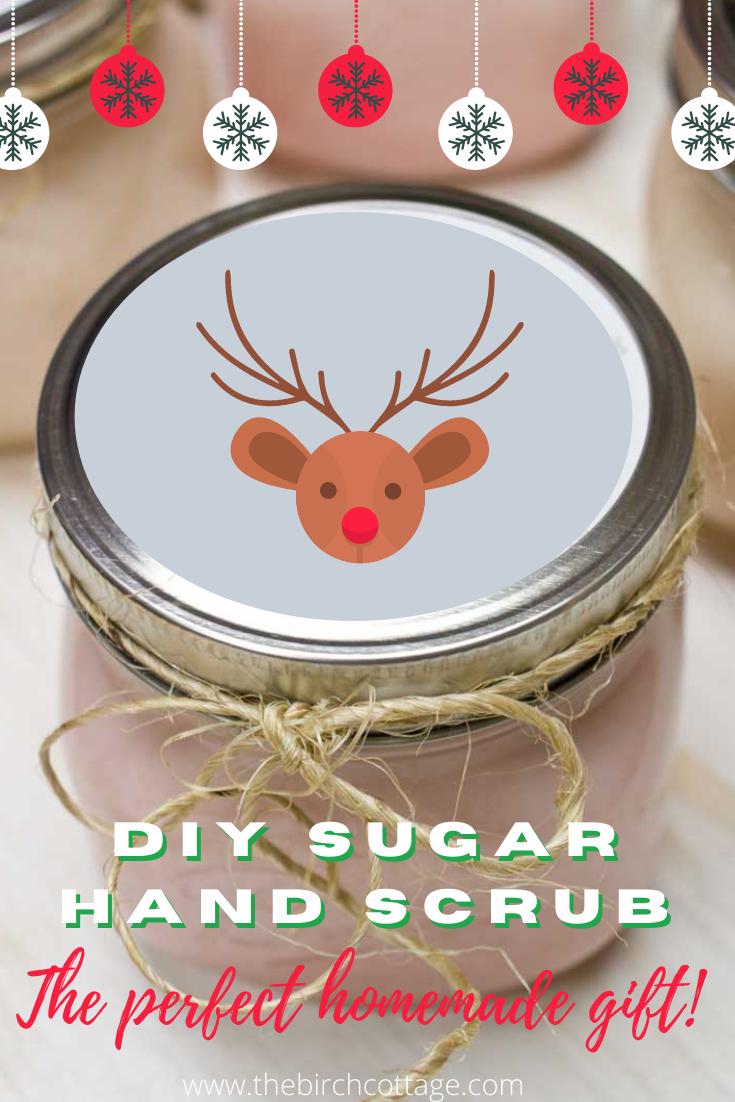 jar of sugar hand scrub