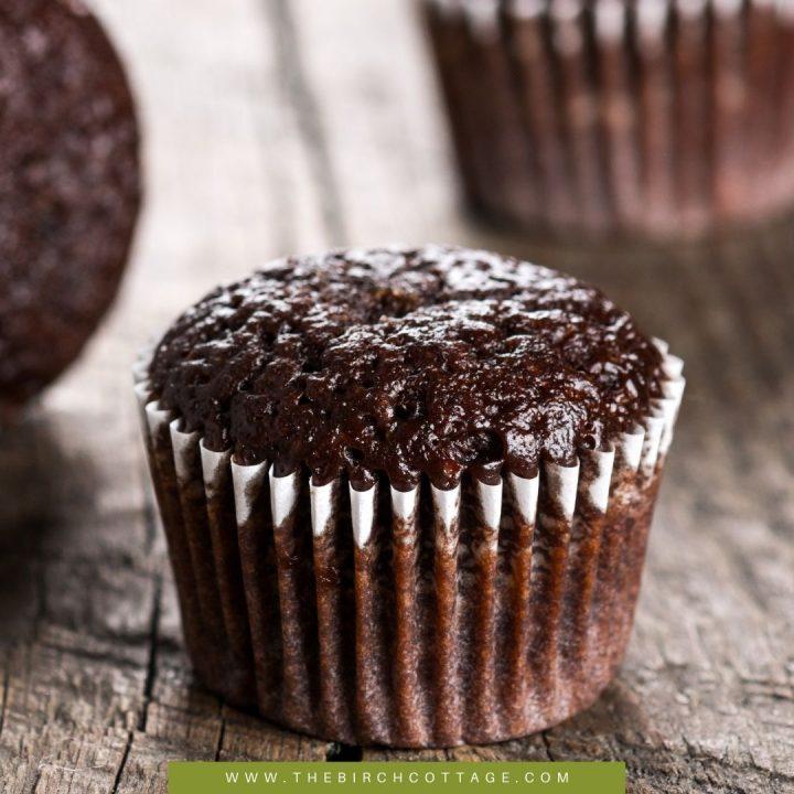 dark chocolate muffin