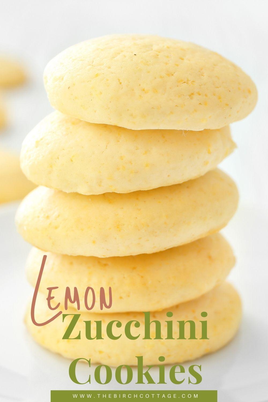 5 lemon zucchini cookies