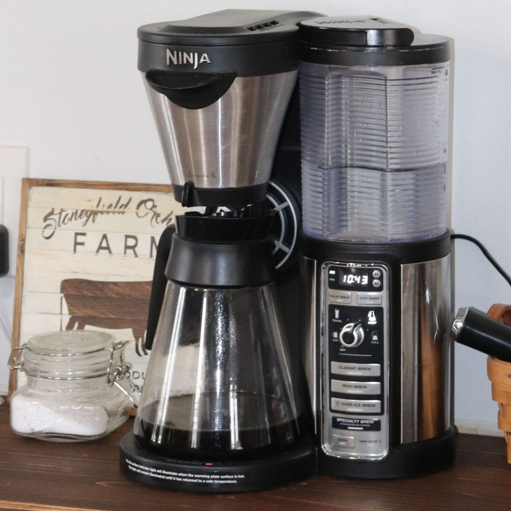 The best coffee maker I have ever owned is the Ninja Coffee Bar. It makes single serve, full pot, specialty and even cold brewed coffee.