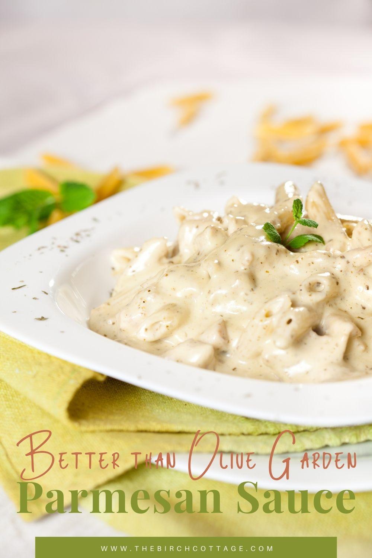 pasta with parmesan sauce