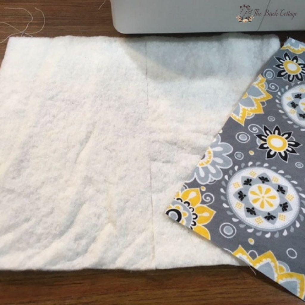bowl cozy fabric