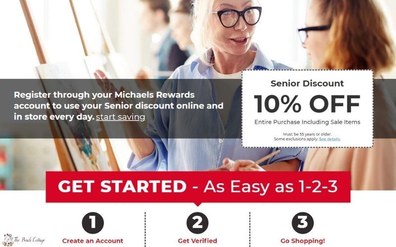 Michaels Stores Senior Discount