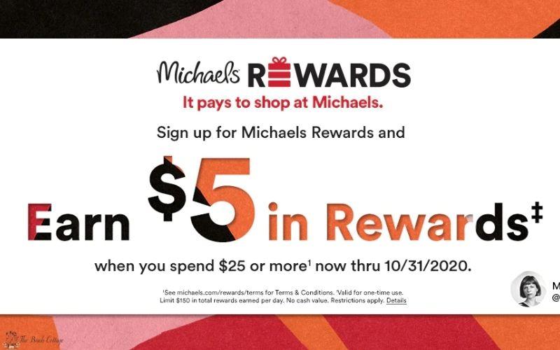 Michaels Rewards Program