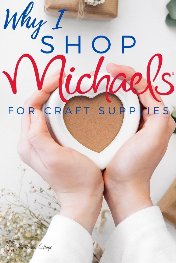 why I shop at Michaels for craft supplies