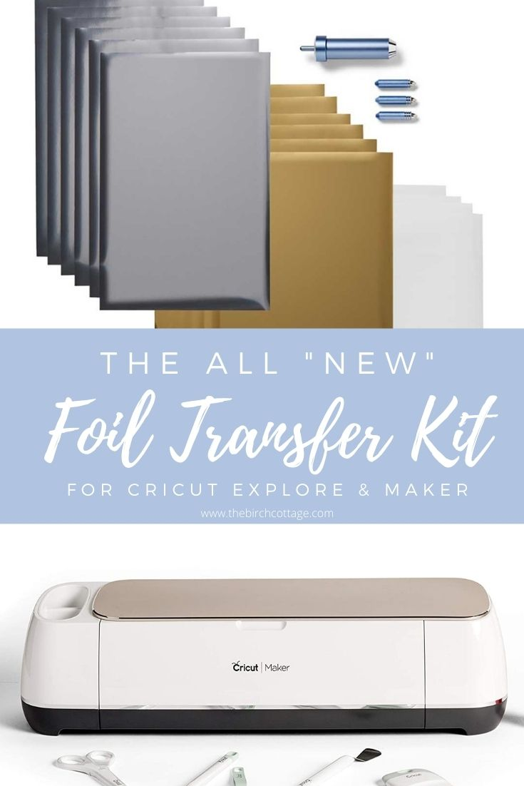 The Cricut Foil Transfer Tool is the newest tool from Cricut. The Kit is the fastest way to get up and running using foil in your projects!