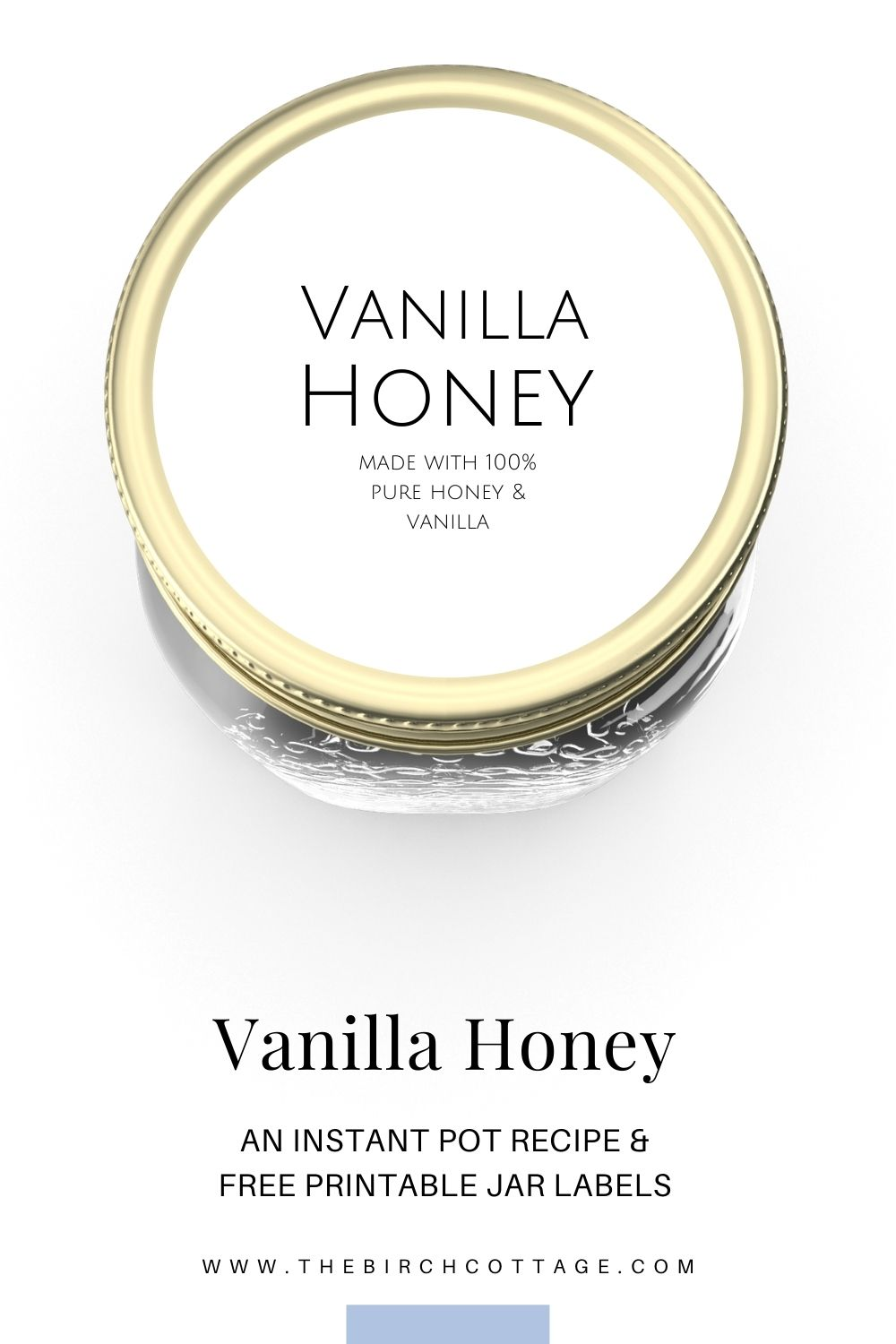 Make this aromatic and tasty vanilla infused honey in your Instant Pot® or electric pressure cooker in less than an hour! Make it for yourself or as a gift!