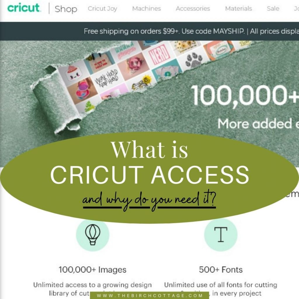If you have a Cricut cutting machine, you may be wondering what is Cricut Access, why or if you really need it and if it's worth it.