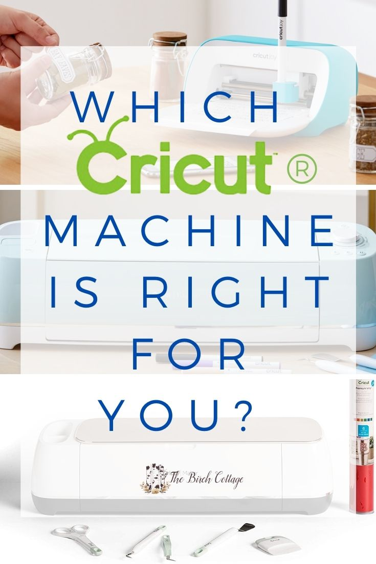 Cricut Joy, Cricut Explore Air 2 and Cricut Cutting Machine