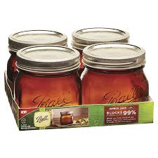 Ball Eite Wide Mouth Canning Jars